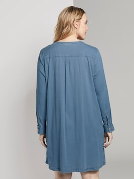 Eenvoudige Chambray Shirt Jurk - 2 - Tom Tailor E-Shop Kollektion