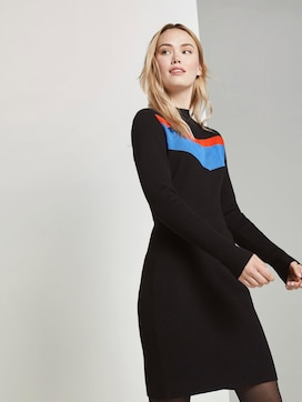 Midi-dress with colour-blocking - 5 - TOM TAILOR Denim