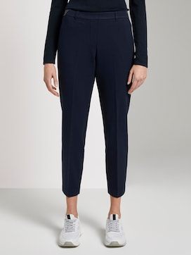 Mia Slim Ankle trousers - 1 - TOM TAILOR