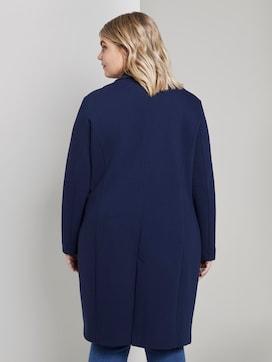 Piqué-Mantel mit Kontrast-Details - 2 - Tom Tailor E-Shop Kollektion
