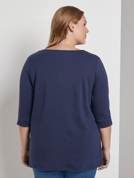Long top with a pleat - 2 - My True Me
