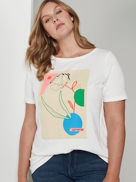 T-shirt with a print  - 5 - My True Me