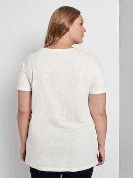T-Shirt mit Stickerei - 2 - My True Me