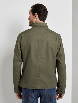 Modern canvas jacket - 2 - TOM TAILOR