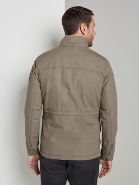 Jacket with a high collar - 2 - TOM TAILOR