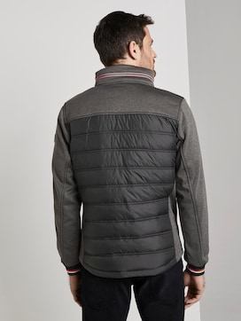 Hybrid Fleece Jas - 2 - TOM TAILOR
