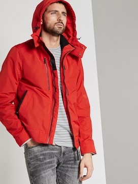 Jacket with a detachable hood - 5 - TOM TAILOR