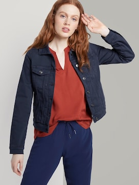Jeansjacke im Slim-Fit - 5 - TOM TAILOR Denim