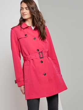 Wasserabweisender Trenchcoat - 5 - TOM TAILOR