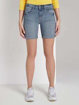 Alexa slim Bermuda denim shorts - 1 - TOM TAILOR