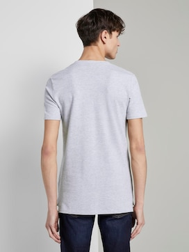 Strukturiertes T-Shirt mit Brusttasche - 2 - TOM TAILOR Denim