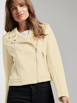 Faux suede biker jacket - 5 - TOM TAILOR Denim