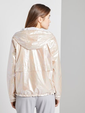Holografischer Windbreaker mit Kapuze - 2 - TOM TAILOR Denim
