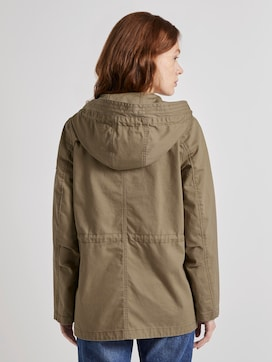 Kurzer Baumwoll-Parka - 2 - TOM TAILOR Denim