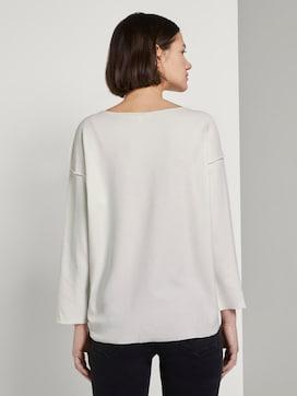 Geripptes Oversized Shirt - 2 - TOM TAILOR Denim