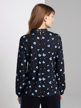 top met lange mouwen en all-over bloemenprint - 2 - TOM TAILOR Denim