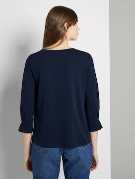 Sweatshirt mit Ärmeldetail - 2 - TOM TAILOR Denim