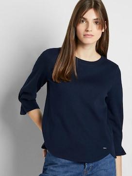 Sweatshirt mit Ärmeldetail - 5 - TOM TAILOR Denim
