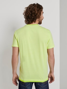 T-Shirt mit Underlayer - 2 - TOM TAILOR
