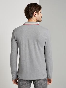 Sportliches Langarm-Poloshirt - 2 - TOM TAILOR