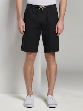 Structured shorts in a jogger fit - 1 - TOM TAILOR Denim