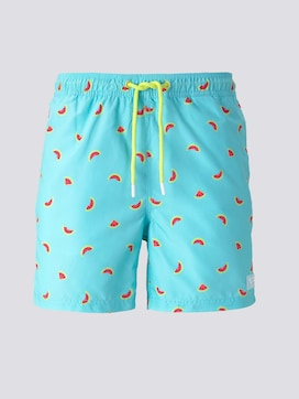 Swimming trunks with an all-over pattern - 7 - TOM TAILOR Denim