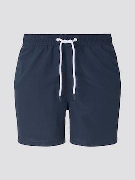 Zwemshort met elastische tailleband met print - 7 - TOM TAILOR Denim
