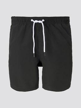 Badeshorts mit elastischem Logo-Bund - 7 - TOM TAILOR Denim
