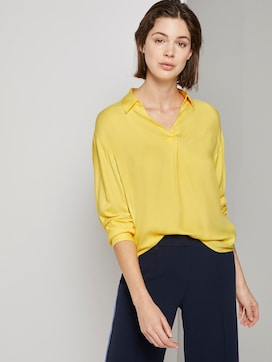 blouse with a V-neckline - 5 - TOM TAILOR