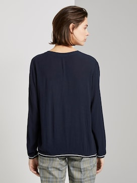 Blouse in crincle look - 2 - TOM TAILOR