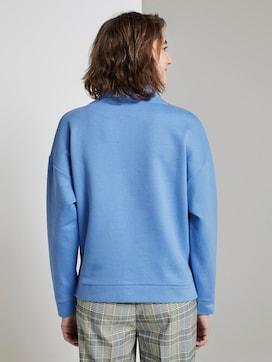 Sweatshirt met opstaande kraag - 2 - TOM TAILOR