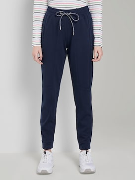 Sporty trousers in ankle-length - 1 - TOM TAILOR