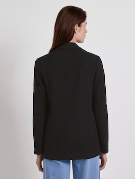 piqué blazer met rechte snit - 2 - TOM TAILOR Denim