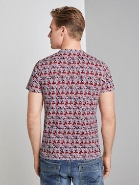 T-shirt im Alloverprint - 2 - TOM TAILOR