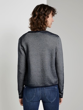 strukturierter Cardigan - 2 - TOM TAILOR
