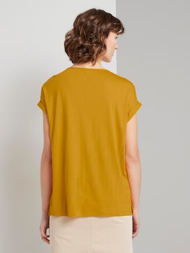 T-shirt made of chiffon - 2 - TOM TAILOR