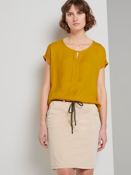 T-shirt made of chiffon - 5 - TOM TAILOR