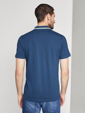 Sportliches Polo-Shirt mit Print - 2 - TOM TAILOR