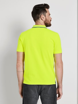 Sporty polo shirt with a print - 2 - TOM TAILOR
