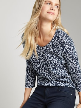 Blouse Top met print - 5 - TOM TAILOR
