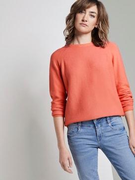 Sweater met split naden - 5 - TOM TAILOR