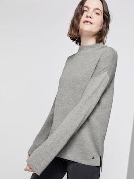 Sweater met opstaande kraag - 5 - TOM TAILOR