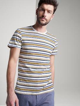 Gestreiftes Jersey T-Shirt - 5 - TOM TAILOR