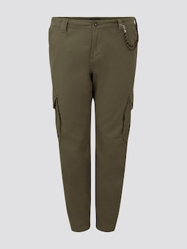 Cargo trousers - 7 - Men Plus
