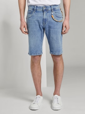 Jeans-Shorts mit Kordelanhänger - 1 - TOM TAILOR Denim