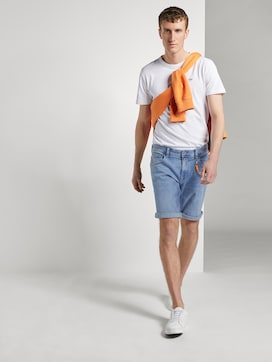 Jeans-Shorts mit Kordelanhänger - 3 - TOM TAILOR Denim
