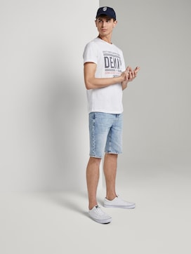 Loose Fit Jeansshort in 90er Waschung - 3 - TOM TAILOR Denim