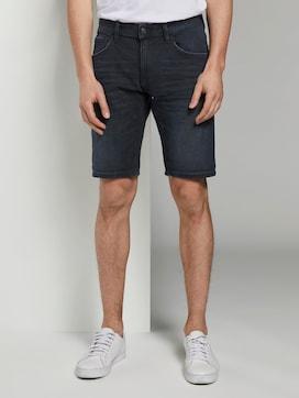 Regular Jeansshorts in dunkler Waschung - 1 - TOM TAILOR Denim