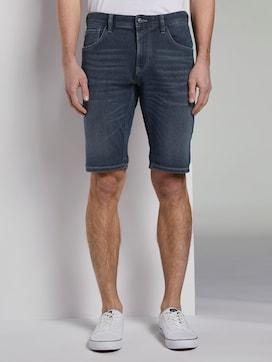 Regular denim shorts in a dark wash - 1 - TOM TAILOR Denim