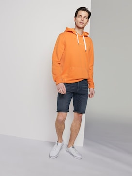 Regular denim shorts in a dark wash - 3 - TOM TAILOR Denim